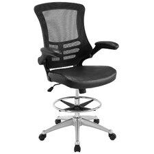 High-Back Mesh Drafting Chair