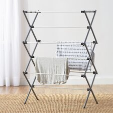 Wayfair Basics Deluxe Metal Free-Standing Drying Rack