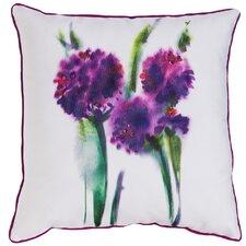 Wilhelmina Watercolor Flower Indoor/Outdoor Throw Pillow