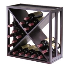 Thorndike 24 Bottle Tabletop Wine Rack