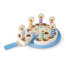 6 Piece Birthday Party Play Set