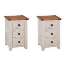 Aldershot Set of 2 Bedside Tables (Set of 2)