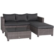 Rudesheim Sectional Sofa Set with Cushions