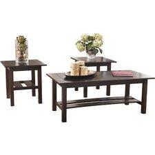 Frances 3 Piece Coffee Table Set