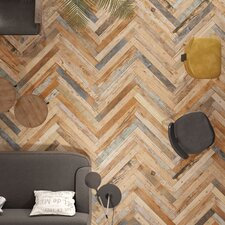 "Zara 2.88"" x 26.5"" Porcelain Floor and Wall Tile in Brown"