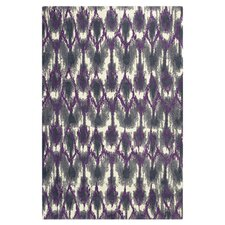 Brighton Horizon Grey & Purple Area Rug