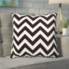 Bollin Chevron 100% Cotton Throw Pillow