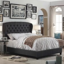 quick view felisa upholstered panel bed