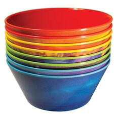 16 Oz. Planet Melamine Soup Bowl (Set of 8)