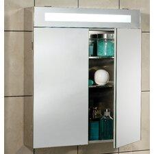 Titan 62cm x 70cm Surface Mount Mirror Cabinet