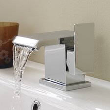 Minimalist Waterfall Monobloc Basin Mixer