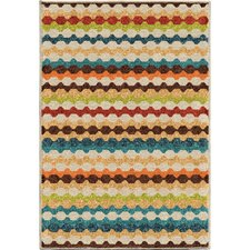 Calhoun Green/Beige Indoor/Outdoor Area Rug