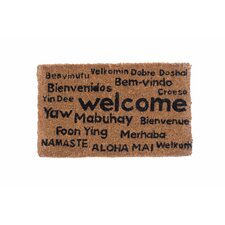 Multi Lingual Welcome Doormat