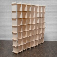 "Gridlock 79"" Cube Unit Bookcase"