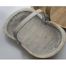 4 Piece Traditional Willow Basket Set