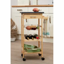 Kitchen Trolley with Granite Top