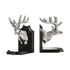Deer Head Bookends (Set of 2)