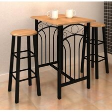 3-Piece Bar Table Set (Set of 3)