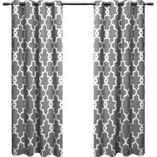 Hadley Geometric Blackout Curtain Panels (Set of 2)