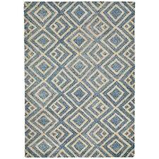 Wooster Hand-Tufted Denim Indoor/Outdoor Area Rug