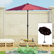 Outdoor 2.7m Illuminated Parasol