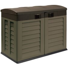 4.79 ft. W x 2.86 ft. D Plastic Horizontal Garbage Shed
