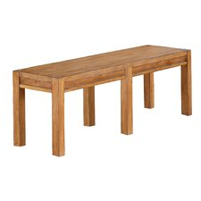 Plessis Twin Falls Wood Dining Bench