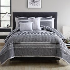 Addilyn 5 Piece Reversible Comforter Set