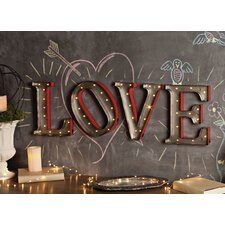 Open Heart LED Marquee Sign