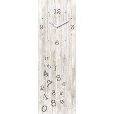 Analoge Wanduhr Time Art Wood