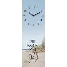 Analoge Wanduhr Time Art Jetzt
