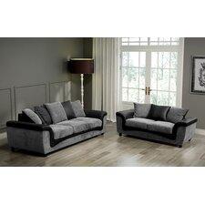 Aston 2 Piece Sofa and Loveseat Set