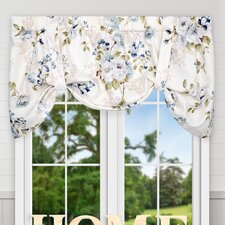 "Chatsworth Floral Lined Tie-up 50"" Window Valance"