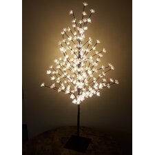 Outdoor 200 Warm LED Lights Cherry Blossom Tree