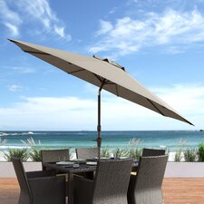 10' Markley Deluxe Tilting Patio Cantilever Umbrella