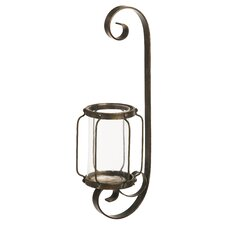Rust Metal Sconce