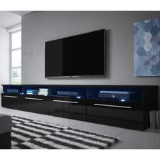 Siena Double TV Stand for TVs up to 70""