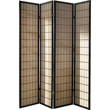 180cm x 180cm Folding Screen 4 Panel Room Divider