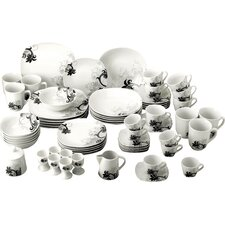 62 Piece Dinnerware Set