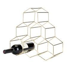 Belmont™ Geomatric 6 Bottle Tabletop Wine Bottle Rack