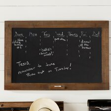 Traditional Brown Chalkboard