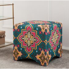 Isaac Accent Cube Ottoman