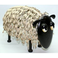 Metal Sheep Garden Statue