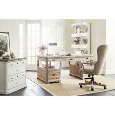 Juniper Dell 5 Piece Desk Office Suite