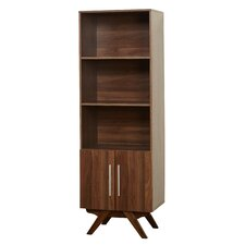 "Mccumber 71"" Standard Bookcase with Cabinet"