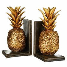Pineapple Bookends (Set of 2)