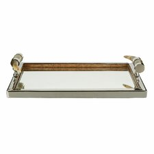 Complements Horn Handled Vanity Tray