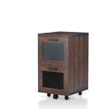 Mara Industrial 2 Drawer Vertical Filing Cabinet