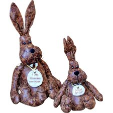 Large Rabbit Doorstop