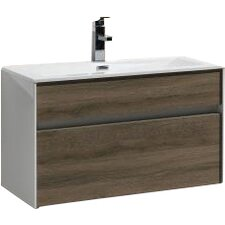 "Brockman 32"" Single Modern Bathroom Vanity Set"